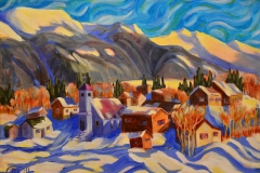 Spring Winds come to Atlin BC